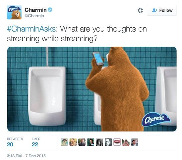 Charmin on Twitter