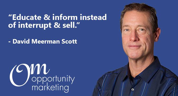 David Meerman Scott Quote