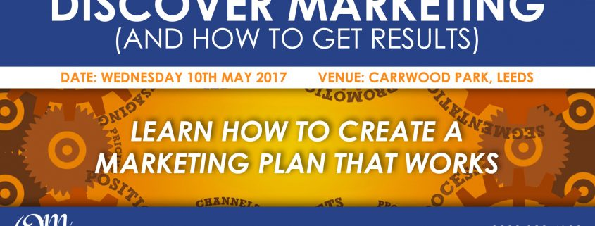 Discover Marketing Event Promo Banner