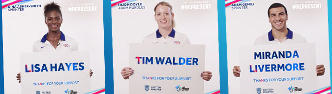 National Lottery #Represent campaign