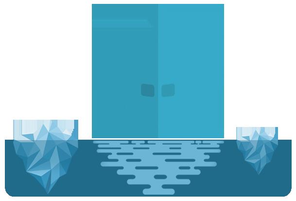 Submarine with periscope vision