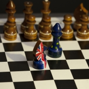 chess game Great Britain and the European Union