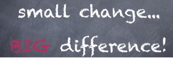 Margins gains message on chalkboard