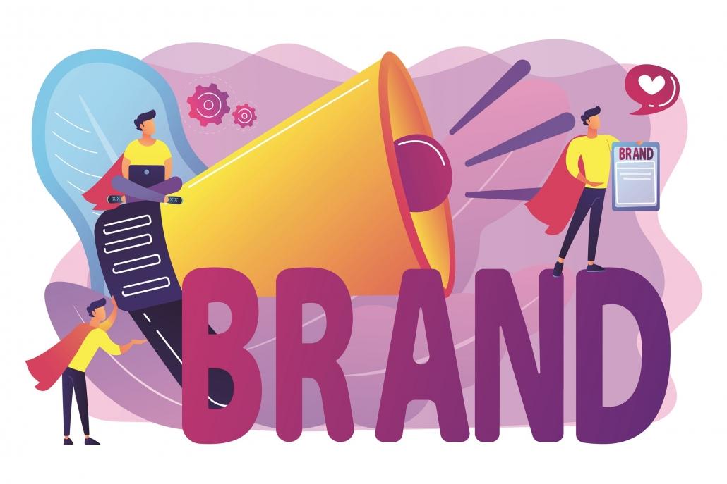 Graphical representation of brand awareness